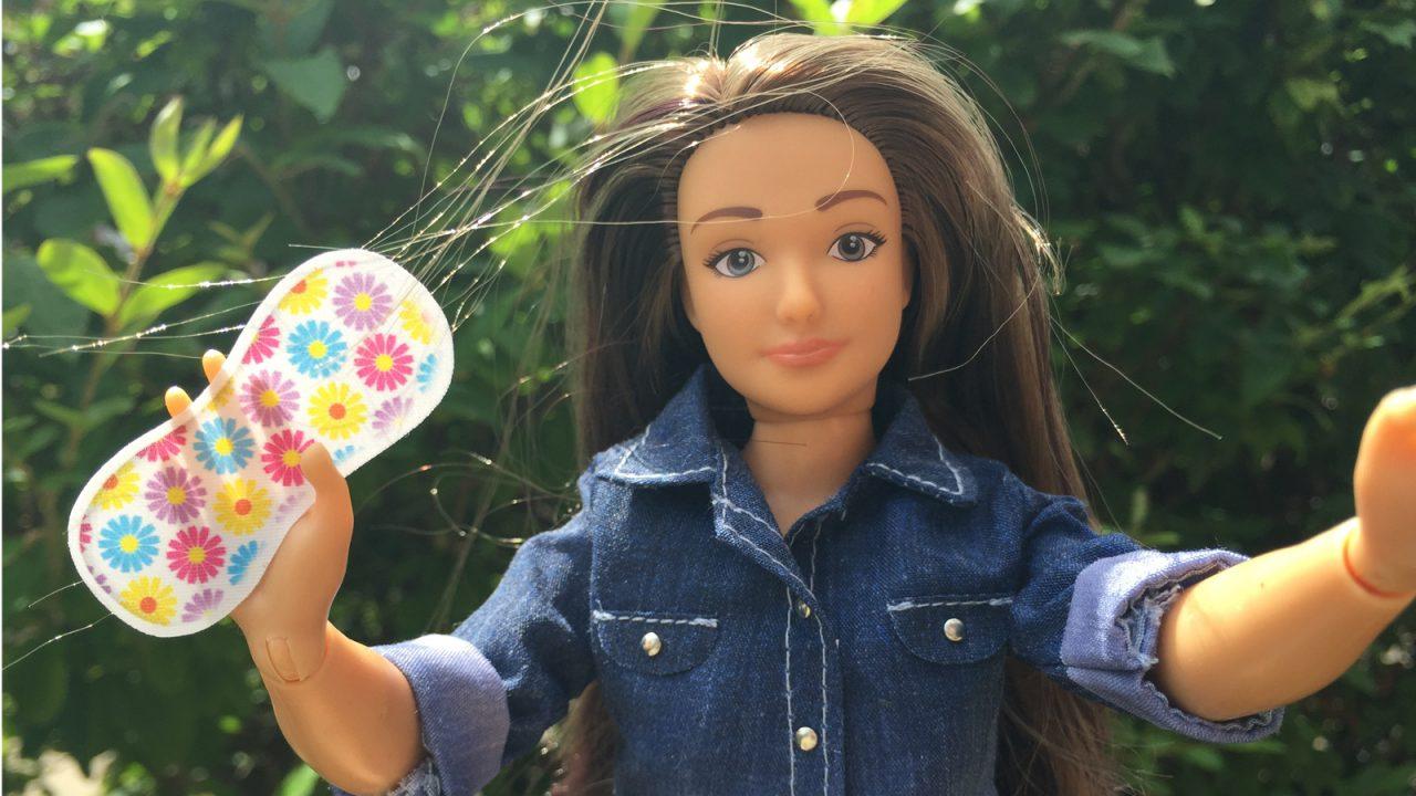 Кукла сделанная по реальным параметрам девушек