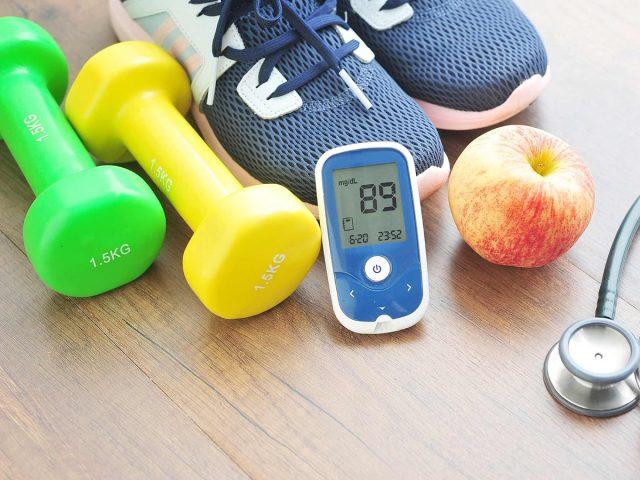 Профилактика диабета с помощью диеты и физических упражнений